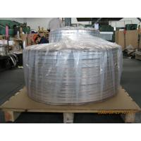 Cheap Thick Aluminum Strips , Sheet Metal Strips For Cable Shielding And Armor Jacket for sale