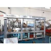 Cheap 5.5KW SS304 2000BPH  Soda Aluminium Can Filling Machine Sealed WiNdow Structure for sale