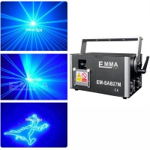 4W blue Laser Stage Light Pro DMX-512 Lighting Laser Projector Party DJ Light