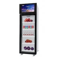 Cheap Grab and Go Smart Fridge Vending Machines with Payment System Bulit in for sale