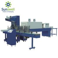 Cheap Pe Film Fully Automatic Shrink Wrapping Machine For Water Juice Carbonated Drink for sale