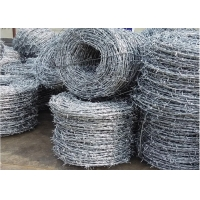 Cheap SWG14XSWG16 Galvanized Barbed Wire for sale