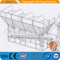 Cheap Easy Cleaning PLD800 Concrete Batching Machine for sale