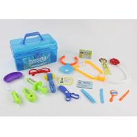 Cheap Colorful Pretend Play Medical Kit 17 Pcs , Children's Toy Medical Case for sale