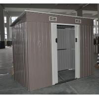 pent shed easy build metal pent shed 6x4 8x4 flat roof garden shed