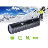 Cheap Flashlight Type Hd 720P /1080P 8Mp Wide-Angle Lens Action Camera Camcorder Water-Resistant Outdoor Bike Helmet Sports Dv for sale