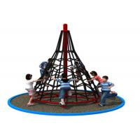 Cheap Amusement Park Rope Climbing Structure Playground Equipment For Kids KP-PW035 for sale