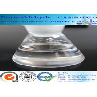 CAS 50-00-0 Formaldehyde No Suspended Substance Liquid With Strong Pungent Odor