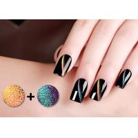 Cheap Odorless 5D Cat Eye Magnetic Nail Polish With GMP Cert / Led Nail Gel Polish for sale
