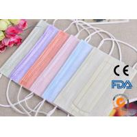Cheap Cheap Medical 1 2 3 Ply Disposable Non-woven Face Mask With Ear Loop Or Ties for sale