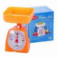 Buy cheap Mechanical Kitchen Scale, Made of PP/ABS Plastic from wholesalers