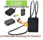 4.5 Watt Powerful GSM Box neckloop black Megntic mini micro Invisible spy
