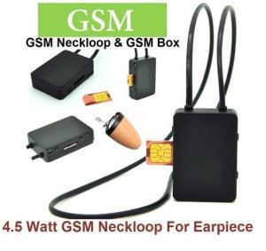 Quality 4.5 Watt Powerful GSM Box neckloop black Megntic mini micro Invisible spy wholesale