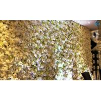 Buy cheap Multipurpose Artificial Flower Wall 40*60 Cm Size Romantic Atmosphere from wholesalers