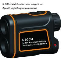 Cheap 900m Multi function Golf Rangefinder with multi function of measuring the range, speed, height, angle for sale