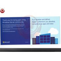 Cheap Full Version 2016 Windows Server Operating System Standard Retail Box for sale