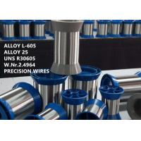 Cheap L-605 / UNS R30605 High Performance Alloys , High End Special Alloys For Medical Implant Device for sale