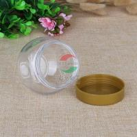 Cheap 225ml Small Transparent Plastic Jar For Dry Fruit / Cookies Waterproof for sale