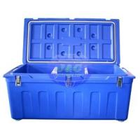 Cheap LLDPE Roto Molded Plastic Products Insulated Fishing Boxes Rotomolded Cooler for sale