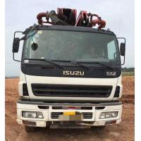 Cheap ISUZU-SANY Used Concrete Trucks , Diesel Used Concrete Mixer Truck With Pump for sale
