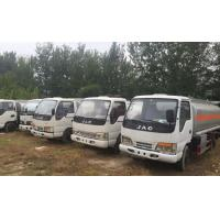 Cheap 2014 Year Used Oil Tanker Diesel Fuel Type 5 Tons - 16 Tons Loading Capacity for sale