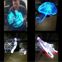 Cheap Cheap Electronic 42cm Diameter hologram projector 3D LED Holographic advertising display fan for sale