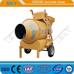 Cheap Construction Sites JZM 500 20m3/H Industrial Concrete Mixer for sale