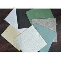 Cheap Square Pvc Vinyl Homogeneous Floor Tiles 300*300 / 450*450 Thermal Insulation for sale