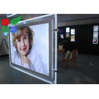 Cheap Cool White 8000K LED Crystal Light Box A3 A4 Poster Size For Real Estate Store Display for sale