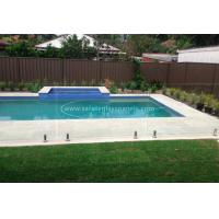 Custom Absolute Glass Pool Fencing , Toughened Glass Swimming Pool Fence