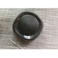 Cheap 4 Ohm Black Portable Stereo Bluetooth Speakers A2DP HSP HFP ABS Material for sale