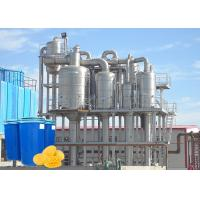 Cheap High Efficiency Vacuum Water Evaporation Machine For Mango Paste CE / ISO for sale