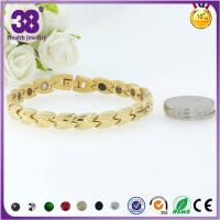 316L Stainless Steel Full Gold Bio Element Rosary Bracelet,freely laser your logo Manufactures