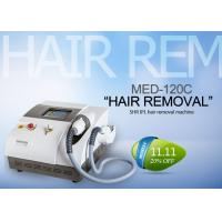 Cheap Beauty Salon IPL SHR Hair Removal Machine For Full Body / Underarms / Legs for sale