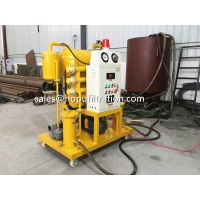 Cheap Single Stage Vacuum Insulation Oil Purifier, Small Transformer Oil Purification Unit for sale