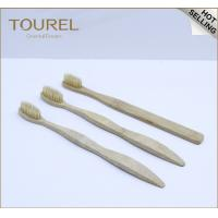 Cheap Bamboo Toothbrush with Bamboo Handle and Soft Bristles Export to India for sale