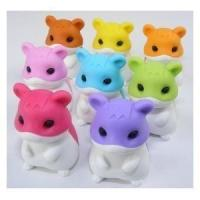 Cheap tiger shaped diy erasers for sale
