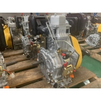 Cheap CE 6.3KW 12V Air Cooled Single Cylinder Diesel Engine for sale