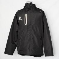 Cheap Eco - Friendly Black Track Jacket , Polyester Track Jacket For All Seasons for sale
