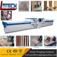 Patio Wood PVC Interior Doors vacuum membrane press machine