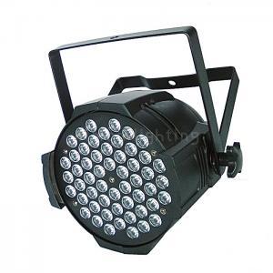 Cheap LED 54x3w RGBW Multi Colors Indoor IP20 Aluminum LED Par Stage DMX Lights for sale