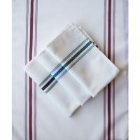 "Buy cheap high quality 55% Cotton 45% Polyester Stripe Bistro Napkins 16X24"" from wholesalers"