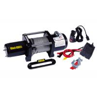 Cheap Waterproof Electric ATV Winch 8000lb With Wheels Lubricated , Portable 12v Winch for sale