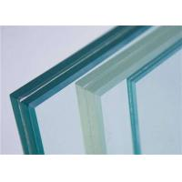 Cheap Decorative Clear Tempered PVB Laminated Glass / Tempered Safety Glass For Stairs for sale