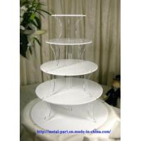 Cheap White Acrylic Cake Stand (CS-A-0019) for sale