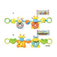 Cheap Stuffed Plush Animal Bowling Ball Set Baby Toys 6 Months Unisex Rattle Teether for sale