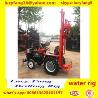 Cheap China Made Cheapest Tractor Mounted Water Well Drilling Rig For 50-70 Meters Depth for sale