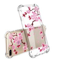 Plum Slim Scratch Resistant Hard PC TPU Bumper Cell Phone Cases For IPhone 7 Plus