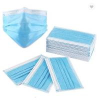 Cheap 3Ply Surgical Face Mask Non Woven Air Anti Virus and Dust disposable Surgical Medical Face Mask , for sale