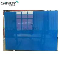 Cheap Interior Decoration beautiful Back Painted Glass With Paint for sale